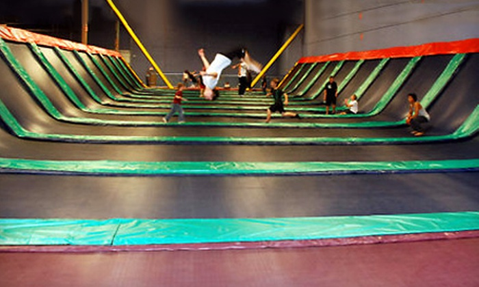 JumpStreet - Northwest Austin: $60 for 10-Visit Pass to JumpStreet in Cedar Park (Up to $120 Value)