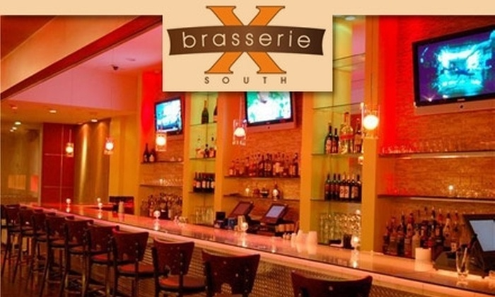 Brasserie 10 South - Downtown: $10 for $20 Worth of Upscale Southern Comfort Fare and Drinks at Brasserie 10 South