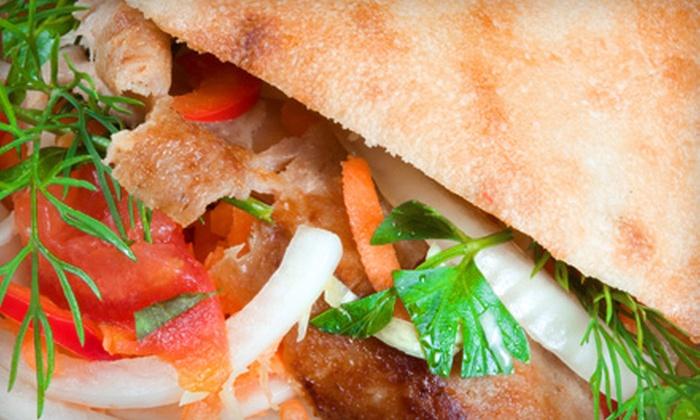 Albasha Greek & Lebanese Restaurant – Greek & Mediterranean Cuisine - Hyde Park, Brookwood, Southern Hills: $10 for $20 Worth of Mediterranean Fare at Albasha Greek & Lebanese Restaurant