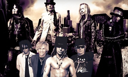 Live Nation: Motley Crue, Poison, and Special Guests New York Dolls at the Verizon Wireless Amphitheatre Charlotte on Tue., July 12 at 7PM: Lawn Section, General Admission ($40 Value) - Motley Crue, Poison, and New York Dolls at the Verizon Wireless Amphitheatre Charlotte in Charlotte