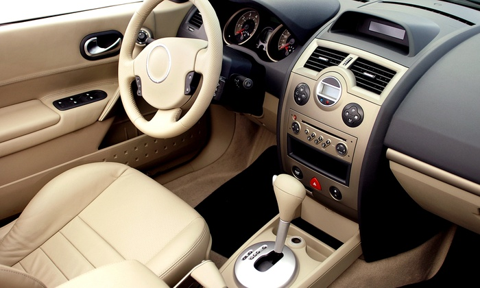 E Auto - Downtown Oklahoma City: Interior and Exterior Detailing for Small or Large Vehicle at E Auto (50% Off)