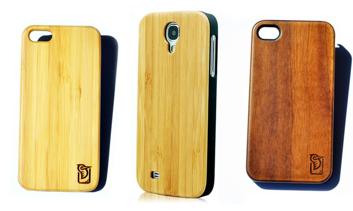 The Woody Co - District de Hull: C$39 for C$79 Worth of Wooden iPhone Cases from The Woody Co
