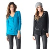 V-neck Collared Cardigan with Pockets