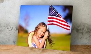 ImageCom.com: One Custom Metal Photo Print from ImageCom.com (Up to 93% Off). Five Sizes Available.