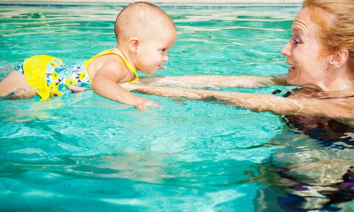 Catch the Wave Swim Club - Multiple Locations: Parent-and-Tot Swim Lessons Once or Twice Weekly at Catch the Wave Swim Club (Up to 67% Off)