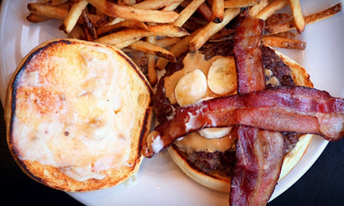The Squared Circle - DePaul: Pizza and Burgers at The Squared Circle (Half Off). Two Options Available.
