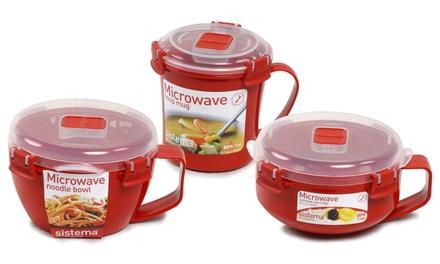 1 ou 2 mugs ou bols Sistema pour soupe, nouilles ou porridge
