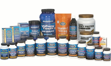 Vitamins and Supplements at The Vitamin Shoppe (Up to 63% Off). Two Options Available.