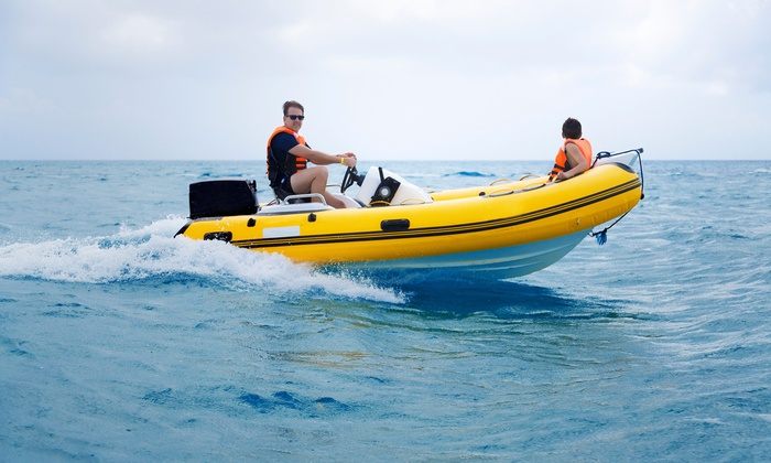 Inflatable Boat Rentals of Palm Beach - Inflatable Boat Rentals of Palm Beach: Four- or Six-Hour Boat Rentals at Inflatable Boat Rentals of Palm Beach (Up to 44% Off)