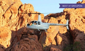Skyline Helicopter Tours: Helicopter Tour of Vegas Strip or Red Rock Canyon with Optional Tickets to See Anthony Cools (Up to 81% Off)