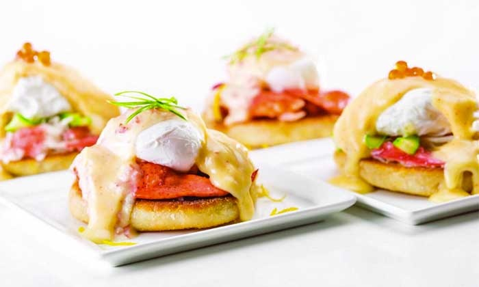 Caesars Palace: Bacchanal Buffet - Caesars Palace: $69 for Two VIP All-You-Can-Eat Breakfast Buffets with Two Mimosas at Bacchanal Buffet ($135.98 Value)