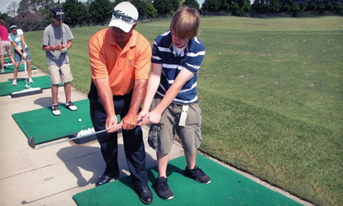 Michael Camastro Golf Academy - Multiple Locations: 3 30-Minute Private Lessons or 10 Weekly Group Lessons at Michael Camastro Golf Academy in Lockport (Up to 57% Off)