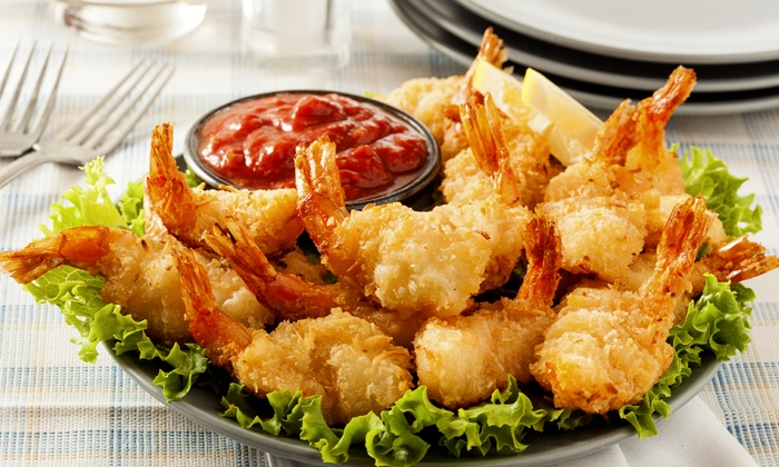 Just Shrimp Alsip - Alsip: $13.50 for One Pound of Jumbo Shrimp at Just Shrimp Alsip