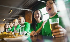 Pub Crawl: Saint Paddy's Pub Crawl Hartford for One or Two from Pub Crawl (Up to 55% Off)