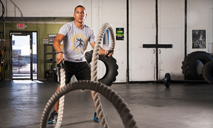 Real Results Fitness - Arts District: 6 or 12 Group Circuit-Training Classes at Real Results Fitness (Up to 74% Off)