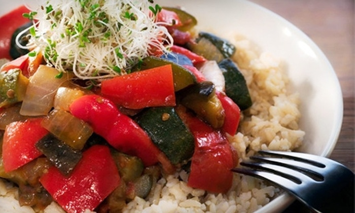Pan Café - Downtown: $15 for $30 Worth of Local and Organic Dinner Fare at Pan Café