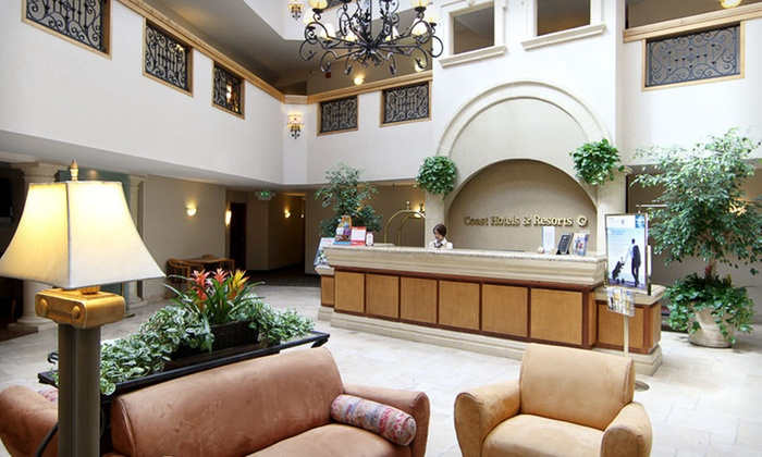 Coast Anabelle Hotel - Cahuenga Pass: One- or Two-Night Stay with Bottle of Champagne at Coast Anabelle Hotel in Burbank, CA