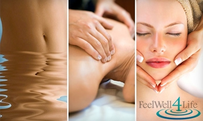 Feel Well 4 Life - Laguna Beach: $35 for a Beauty and Wellness Treatment at Feel Well 4 Life (Up to $85 Value)