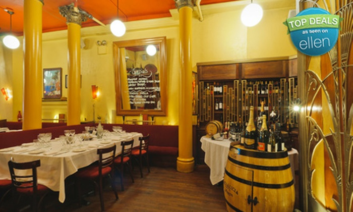 Brasserie Julien - Yorkville,Uptown,Upper East Side: $49 for Five-Course French Tasting Menu, Two-Hour Wine-Tasting Class with 10 Wine Pairings, and $20 Gift Certificate to Brasserie Julien (a $120 Value)