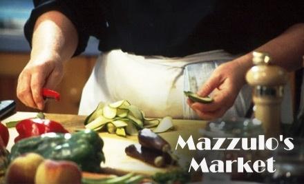 $20 Groupon to Mazzulo's Market - Mazzulo's Market in Bainbridge