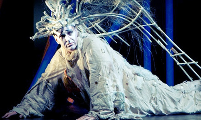 """""""A Very Old Man with Enormous Wings"""" - Miami Shores: $20 for Two to See """"A Very Old Man with Enormous Wings"""" at The PlayGround Theatre ($45.60 Value). Seven Shows Available."""