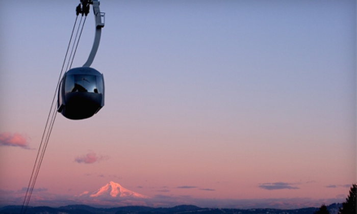 Portland Aerial Tram - Corbet - Terwilliger - Lair Hill: Roundtrip Tram Ride for Two from Portland Aerial Tram ($8 Value)