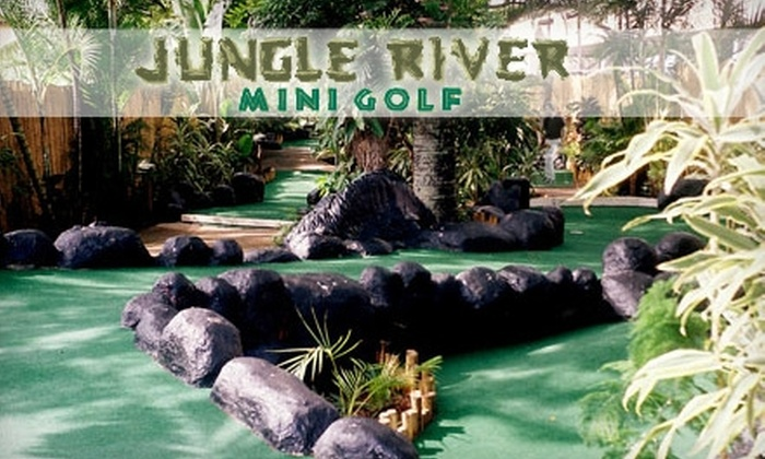 Jungle River Mini Golf - Aiea: $49 for a One-Year Family Pass ($99.99 Value) or $24 for a One-Year Individual Pass ($49.99 Value) to Jungle River Mini Golf