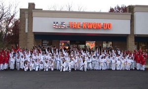 Yang's U.S.Taekwondo: Four or Eight Taekwondo Classes for One or Two at Yang's U.S. Taekwondo (Up to 92% Off)