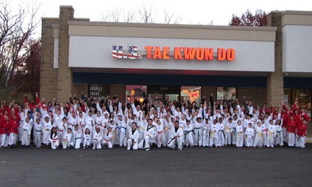 Four or Eight Taekwondo Classes for One or Two at Yang's U.S. Taekwondo (Up to 92% Off)