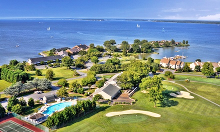Stay at Harbourtowne in St. Michaels, MD. Dates into August.