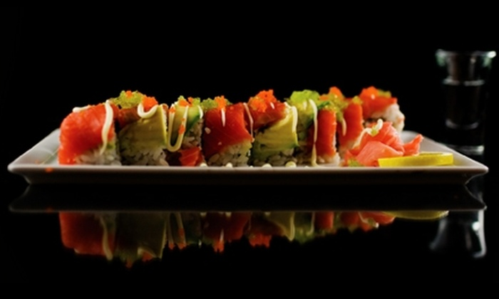 Point Zero Lounge & Restaurant - Downtown Vancouver: $20 for $40 Worth of Sushi and Drinks at Point Zero Lounge & Restaurant