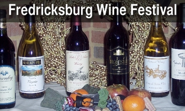 Fredericksburg Area Wine Fest - Downtown Fredericksburg: $8 for a One-Day Admission to Fredericksburg Area Wine Fest ($14.62 Value). Choose Between Two Dates.
