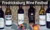 Fredericksburg Area Wine Fest - Downtown Fredericksburg: $8 for a One-Day Admission to Fredericksburg Area Wine Fest ($14.62 Value). Choose Between Two Dates.