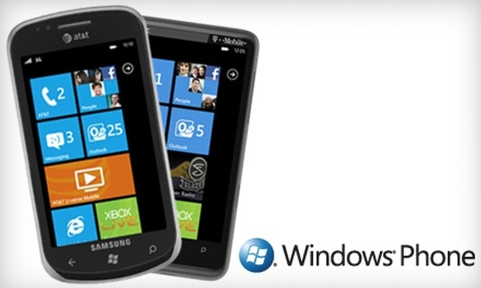 Microsoft Store - Oak Brook: $49 for a Samsung Focus or an HTC HD7 Windows Phone from the Microsoft Store ($99.99 Value)
