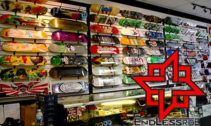 Endless Ride Shop - Wichita: $10 for $25 Worth of Skate Boards, Apparel, and Accessories at Endless Ride Pro Shop