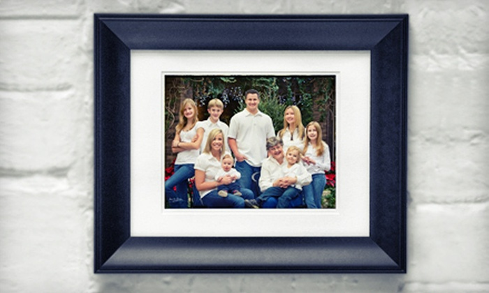 Impact Photographic Design - Munroe East: $55 for a Photo-Shoot Package with Framed Portrait from Impact Photographic Design ($400 Value)