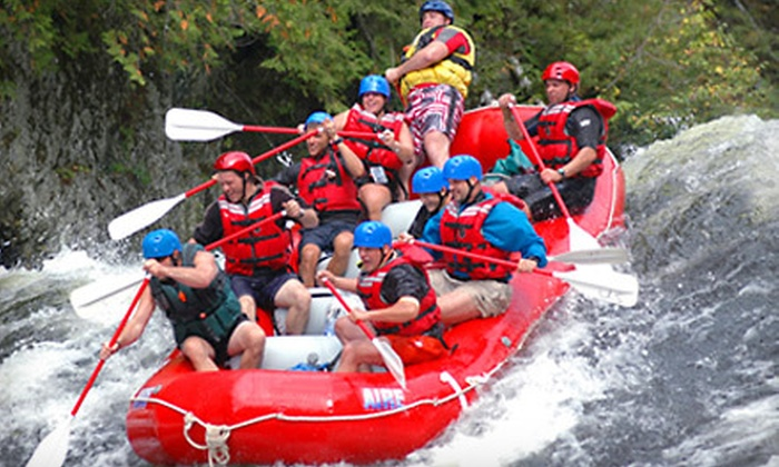 U.S. Rafting - Portland, ME: Weekday Whitewater-Rafting Adventure and Barbecue Lunch from U.S. Rafting in West Forks (Up to 62% Off)