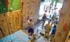 North Texas Outdoor Pursuit Center - Original Town: Rock Climbing from The North Texas Outdoor Pursuit Center. Three Options Available.