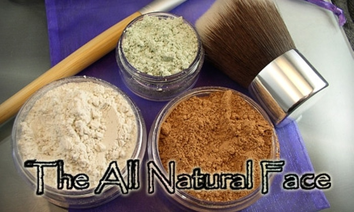 The All Natural Face: $25 for $50 Worth of Vegan Beauty Products from The All Natural Face