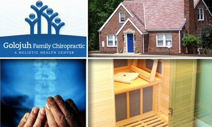 Golojuh Family Chiropractic - McCandless: $60 Exam, Adjustment, X-rays, and Two Sauna Sessions at Golojuh Family Chiropractic ($310 Value)