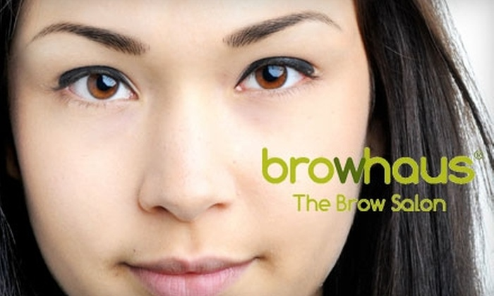 Browhaus - NoLita: $12 for an Eyebrow Shaping and Upper-Lip Threading ($27 Value) or $650 for a Full Brow Resurrection at Browhaus ($1,400 Value)