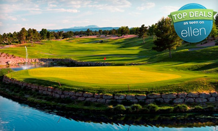 Highland Falls Golf Club at Golf Summerlin - Sun City Summerlin: $34 for 18-Hole Golf Outing with Cart and Range Balls at Highland Falls Golf Course (Up to $99 Value)