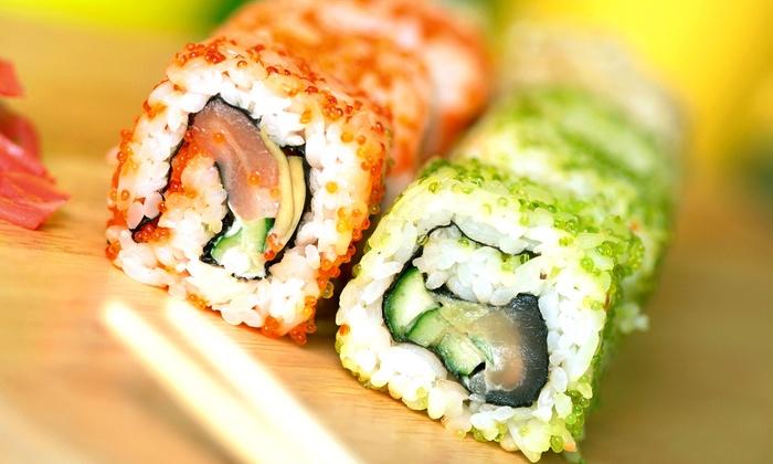 Fuji San - Carlen: Sushi and Thai Food for Two or Four at Fuji San (Half Off)