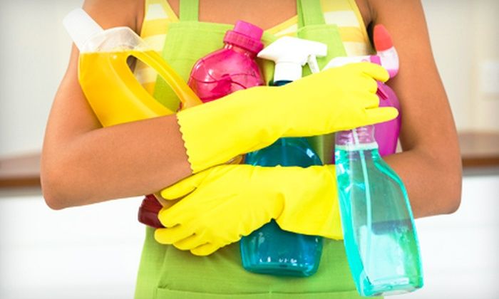 Dos Funny Frogs Cleaning Service - Center City East: $59 for Kitchen, Bathroom, and Bedroom Cleaning or Three-Room Carpet Cleaning from Dos Funny Frogs Cleaning Service (Up to $129.99 Value)