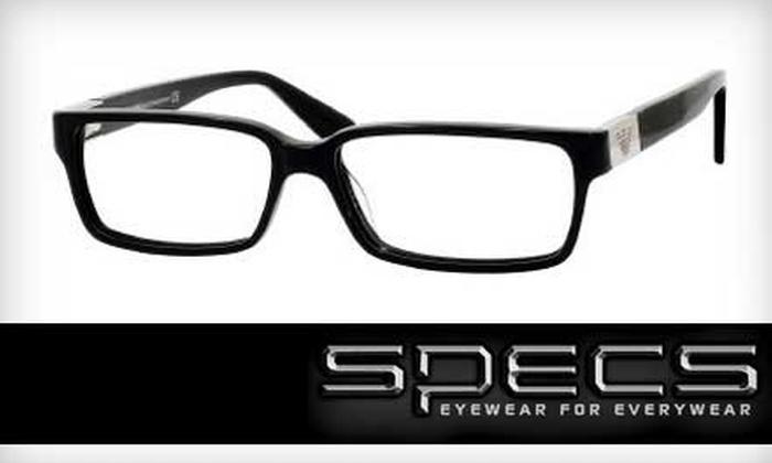 Specs - Multiple Locations: $25 for $50 Toward Non-Prescription Sunglasses at Specs