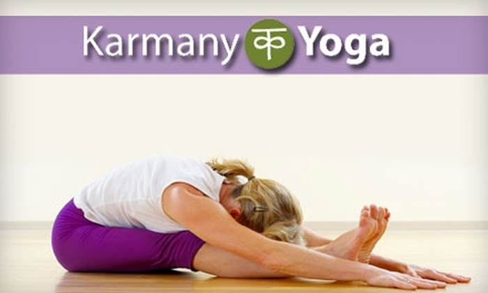 Karmany Yoga - Fort Worth: $29 for a Month of Unlimited Yoga at Karmany Yoga (Up to $112 Value)