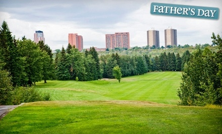 Riverside Golf Course: 9 Holes of Golf for Two - Riverside Golf Course in Edmonton