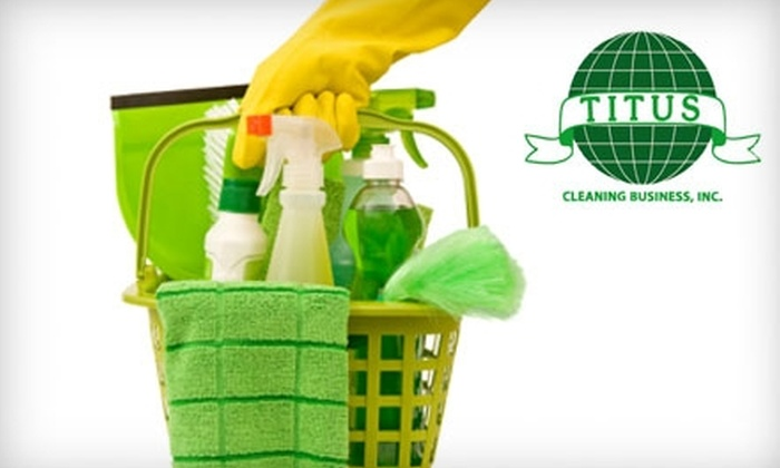 Titus Cleaning Business, Inc. - Baltimore: $90 for Three Hours of Eco-Friendly House Cleaning from Titus Cleaning Business, Inc. ($250 Value)