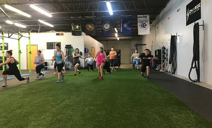 image for Four Weeks of Unlimited Group Training Sessions at Charge <strong>Fitness</strong> and Performance (Up to 61% Off)