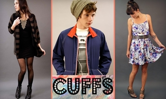 Cuffs - Midtown: $25 for $50 Worth of Vintage and Independent Designer Wares at Cuffs